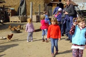 Látogatás a tanyán