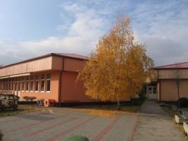 őszi udvari kép